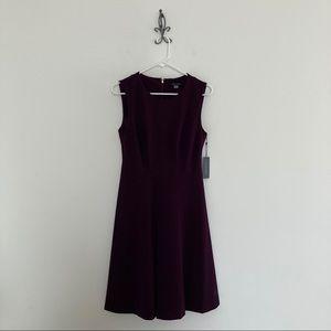 Tommy Hilfiger Sleeveless Dress Size 6 Eggplant